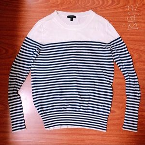 J.Crew French Style Blue Strip Top 🇫🇷